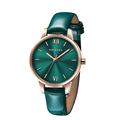Hot sale wrist watch women leather watch, japan movement stainless steel watch for women
