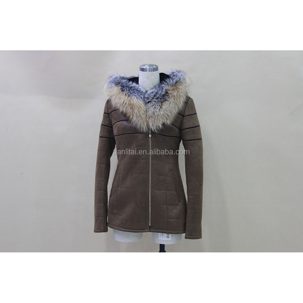 Elegant style Fur coat women winter for sexy lady