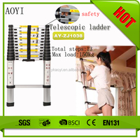 Best price for good quality ladder 3.8m aluminium ladder as seen on tv