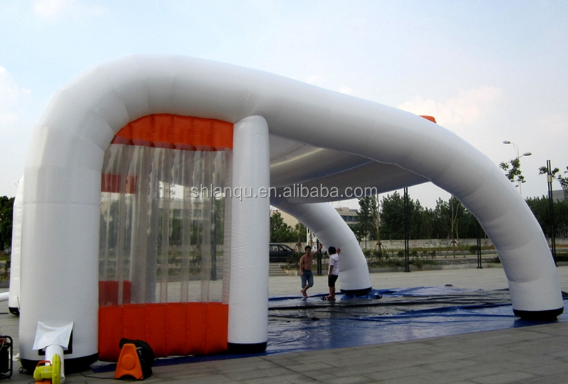 Outdoor pvc tent manufacturer china/car wash tent