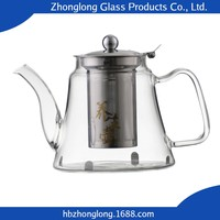 Top Hot Selling Best Price OEM Accepted Tea Glass Pot With Candle