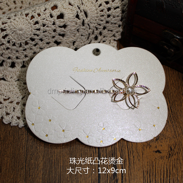 Logo Printing Hair Bow Display Card, Logo Printing Hair Bow ...