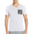 Blank Bamboo Leather Pocket Men Longline T Shirt
