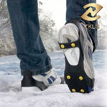 Ice Snow Grip Anti Slip Overshoes Snow Shoes High Quality Whole Ice Cleats Ice Crampons