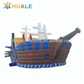 New design giant inflatable pirate ship bouncy castle ,inflatable pirate ship slide for kids