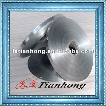 Aluminum polyester foil for telecommunication equipment