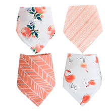 Wholesale Soft 100% Cotton Double Layer Printed Dog Bandana