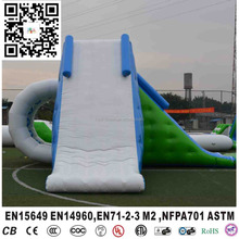 Lake floating inflatable water jumping tower inflatable water obstacle