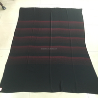 RED Rayon Stripe NIDA Formal Black Abaya Fabric