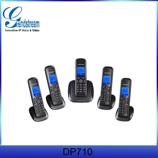 Grandstream long range cordless phone DP715 DECT SIP Phone