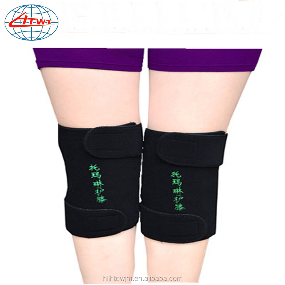 Elastic Nylon Self-heating Keep Warm Knee support knee pad knee protector