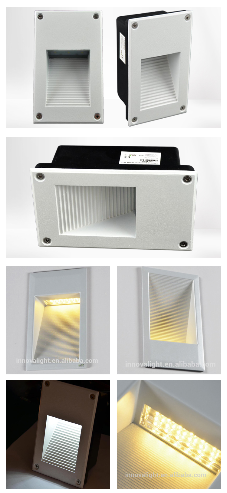 INNOVALIGHT 6W IP65 Recessed Outdoor wall light LED Decoration Light