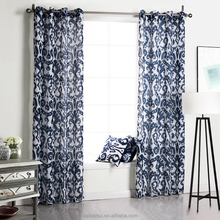 Wholesale Factory Home and Hotel Sheer Window Curtain Fabric with Printed Pattern For Home Decor