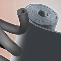 hot&cold rubber foam spong plastic thermal insulation roll Sheet