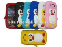 Penguin Silicon Back Cover Case For BlackBerry Bold 9790