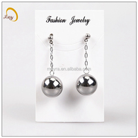 high feedback brand stainless steel earing hollow jewelry eardrops