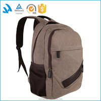 Welcome to OEM ODM canvas leather school 14 inch laptop backpack