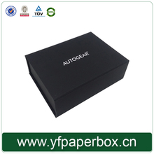 YIFENG High Quality black paper perfume packaging box