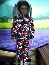 100% cotton Ventilated Beekeeping Protection Children suits 120cm,130cm,140cm,150cm, bee protective Clothing