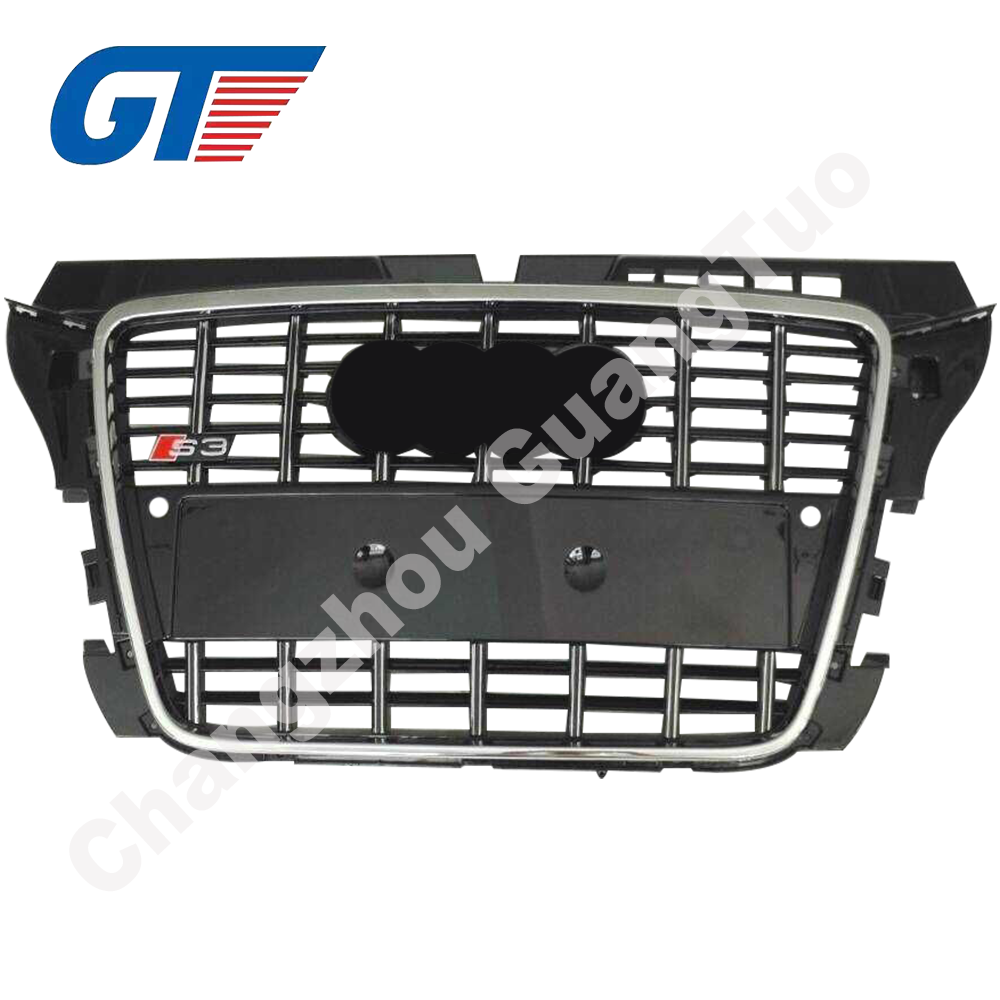 A3 S3 front bumper mesh grille, auto body parts for new AUDI A3 S3