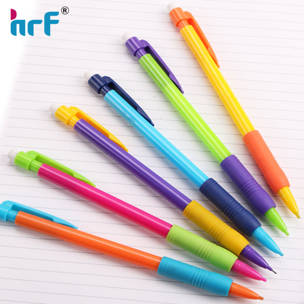 2016 hot sale color blocking mechanical pencil 0.5/0.7mm
