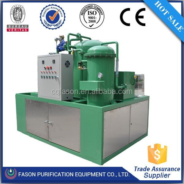 Easy maintenance waste transformer oil purifier