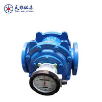 Vegetable/cooking oil/gasoline flow meter