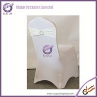 #124 For Sale Wholesale Cheap Spandex Folding Wedding Chair Covers Rental Manufacturers