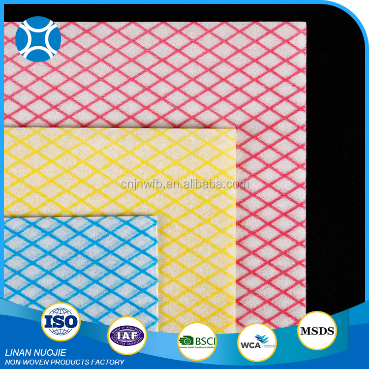 China Factory Supply Easy Use Chemical Bonded Cleaning Cloth