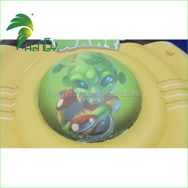 Funny Large Commercial Display Replica Inflatable Floating UFO Shape Balloon