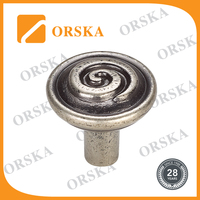 Hot selling cabinet decorative excellent vintage zinc alloy knob