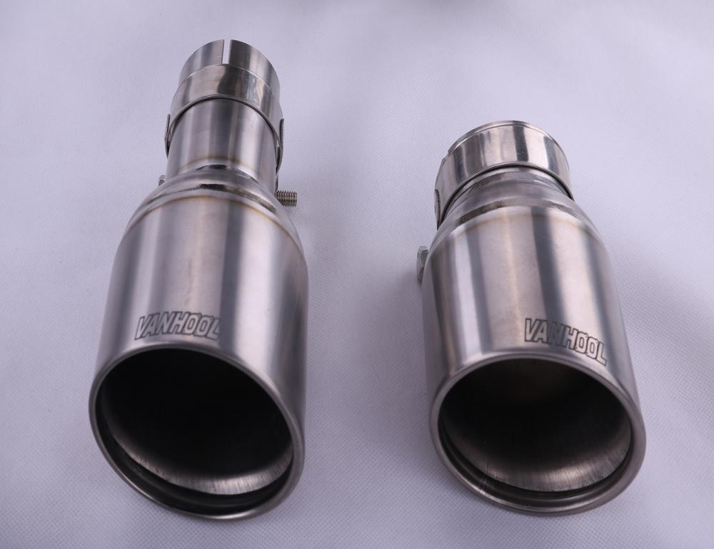Factory direct selling Modified Titanium valve control Car exhaust muffler Pipe for Panamera S 3.0T