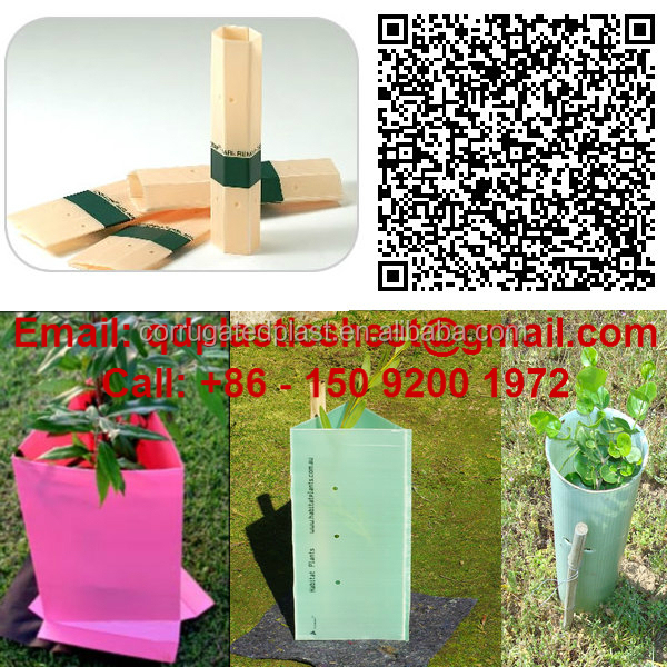 Triangle Plant Guards, Corflute Vine Guards, Plastic Tree Guards