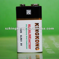 9V super Alkaline battery LR61 cylinder primary dry battery