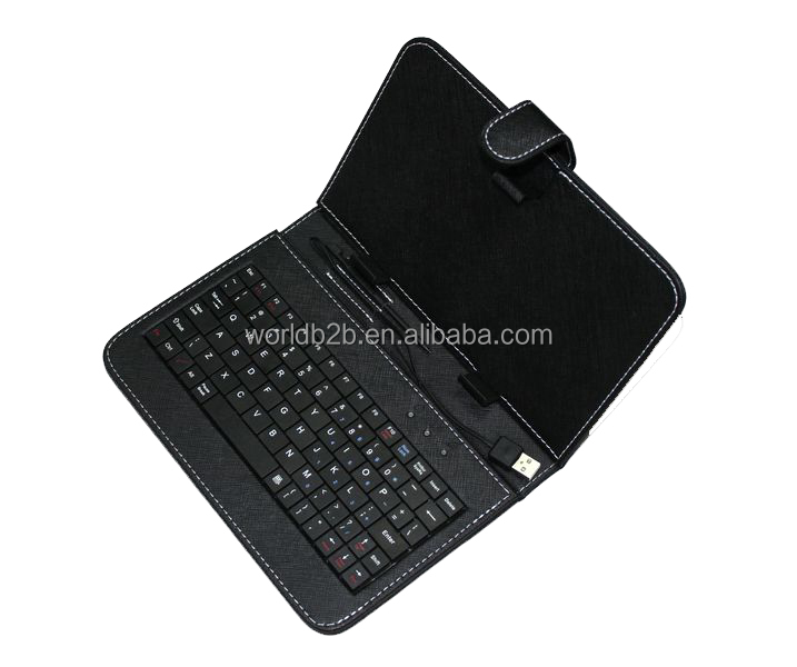 Alibaba Best Seller 7inch Tablet Universal Keyboard Case with Stand