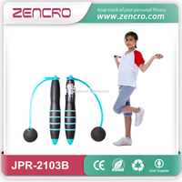 China supplier elctronic fitness Calorie Jumping Rope