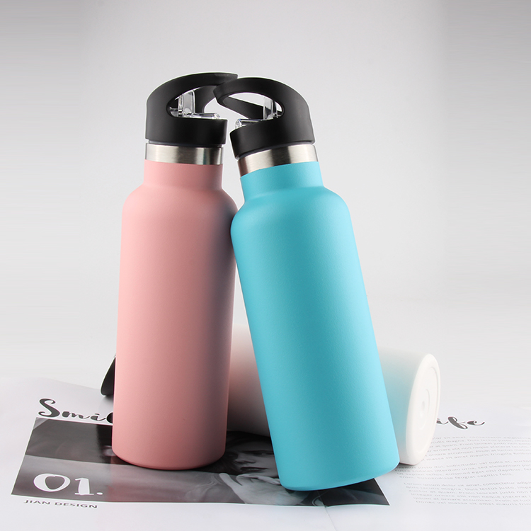 Double Wall Stainless Steel Insulated Thermos Bottle Insulated Travel Bottle With Customize Color