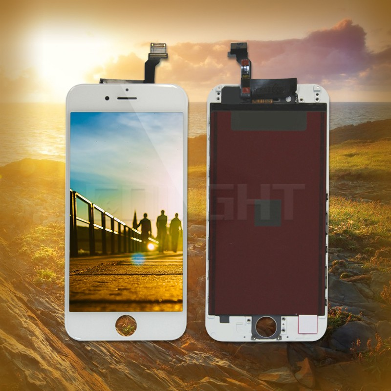 Wholesale glass lens screen replacement parts for iPhone 6 lcd panel