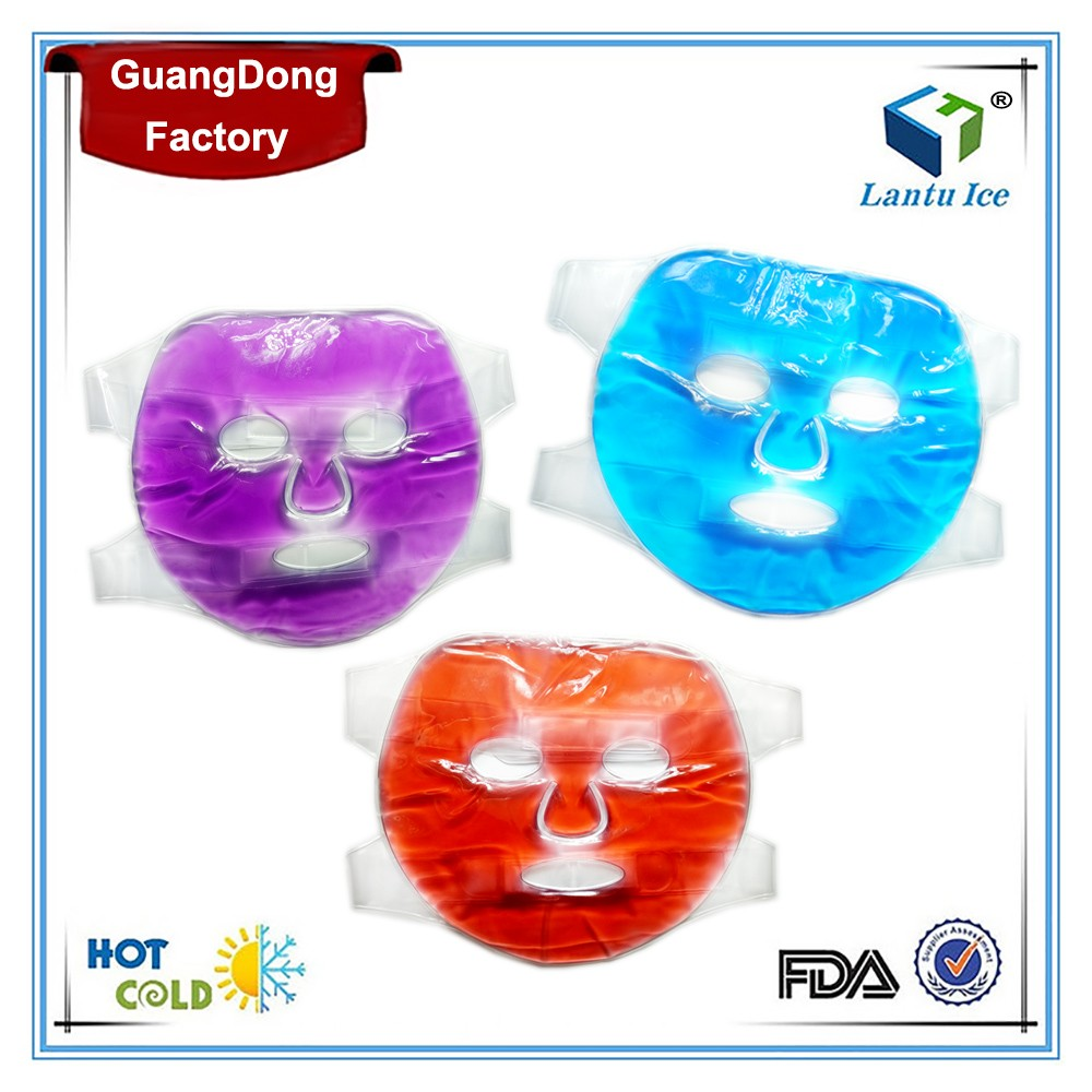 Guangdong factory Hot Cold Face mask with gel beads