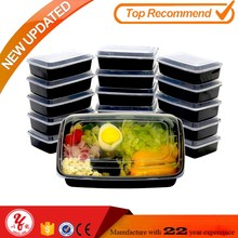 Reusable microwave pp food container with good quality