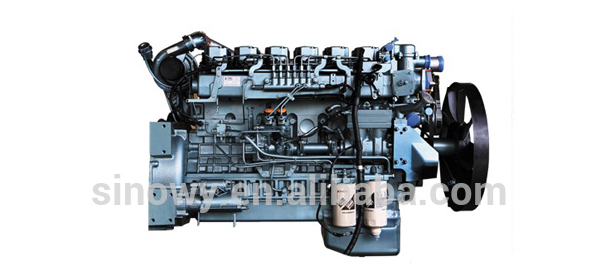 SINOTRUK HOWO TRUCK SPARE PARTS DIESEL ENGINE EURO III D10.34 HIGH QUALITY CHINA PRICE