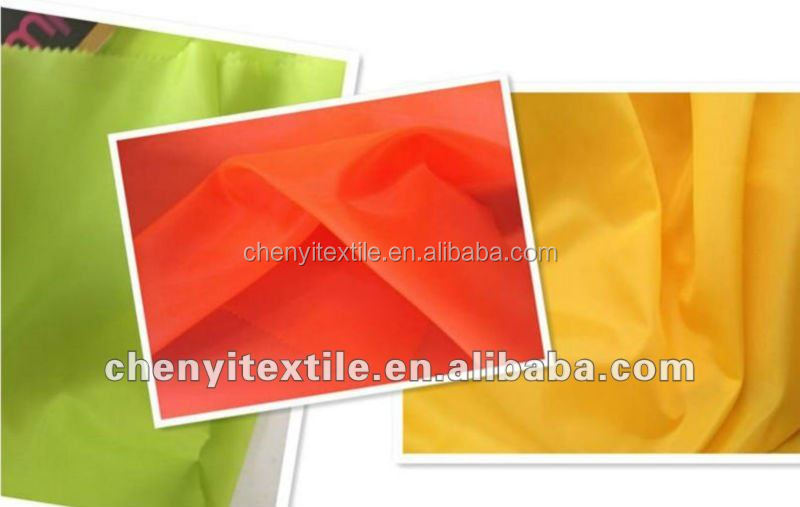 poly fabric 190t taffeta for lining
