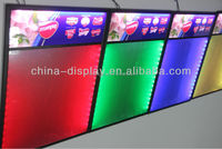 Glowing drawing billboard full colour message board Ce& Rhs with your Special Logo flashing LED Writing Sign board