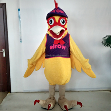 Adult character rooster mascot costume custom chicken mascot for sale