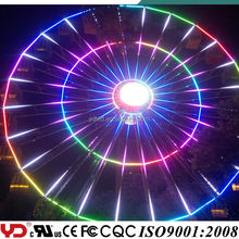 YD proffesional building and ferris wheel decorating rgb led light strip