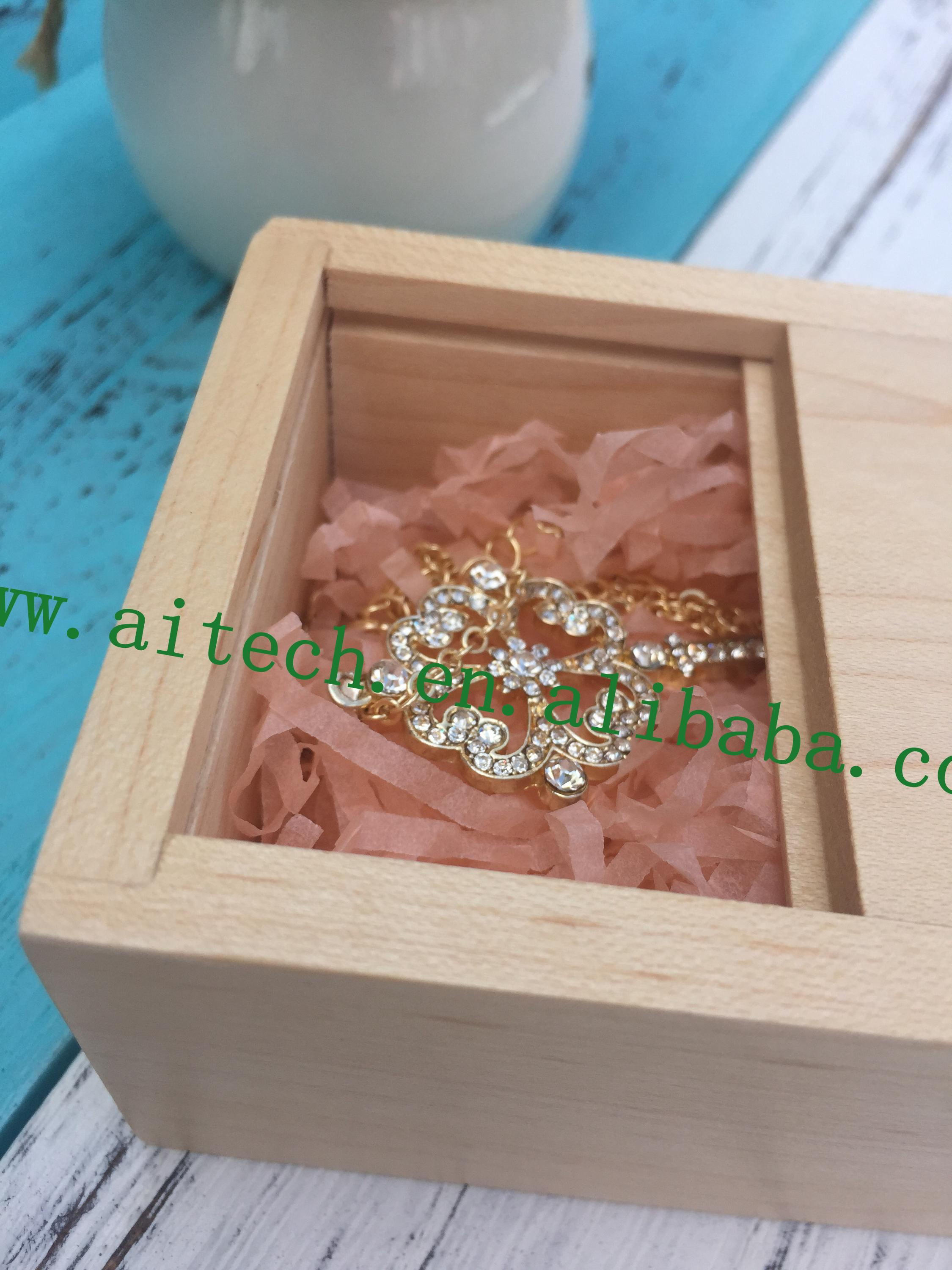 Custom Fine Painted Jewelry Wooden Box Gift