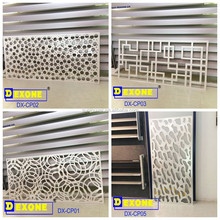 CNC aluminum carving panel for facade screen window