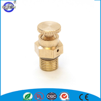 brass self hydraulic air water bleed valve