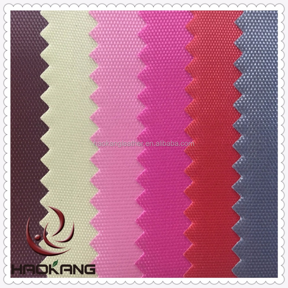 420d Pvc coated polyester oxford fabric