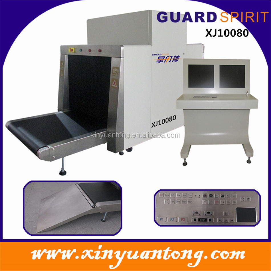 wholesale XJ10080 large tunnel size x-ray baggage scanner for airport